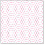 Hambly Studios - Screen Prints - 12 x 12 Overlay Transparency - Chicken Coop - Pink