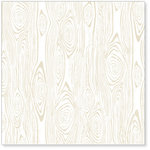Hambly Studios - Screen Prints - 12 x 12 Overlay Transparency - Woodgrain Remix - Antique White