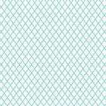 Hambly Studios - Screen Prints - 12 x 12 Overlay Transparency - Lattice - Antique Teal Blue