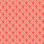Hambly Studios - Screen Prints - 12 x 12 Overlay Transparency - Mini Brocade - Red