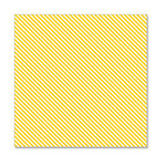 Hambly Studios - Screen Prints - 12 x 12 Overlay Transparency - Diagonal Alley - Golden Yellow