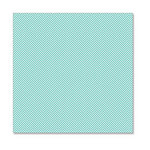 Hambly Studios - Screen Prints - 12 x 12 Overlay Transparency - Herringbone - Antique Teal Blue