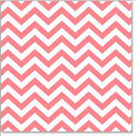 Hambly Studios - Screen Prints - 12 x 12 Overlay Transparency - Herringbone - Chevron - Coral