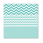 Hambly Studios - Screen Prints - 12 x 12 Overlay Transparency - Herringbone - Chevron Mash Up - Antique Teal Blue