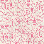 Hambly Studios - Screen Prints - 12 x 12 Paper - Sweet Tooth - Pink on White Gold