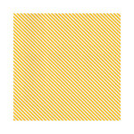 Hambly Studios - Screen Prints - 12 x 12 Paper - Diagonal Alley - Golden Yellow on White Ice