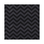 Hambly Studios - Screen Prints - 12 x 12 Paper - Chevron - Black on Onyx