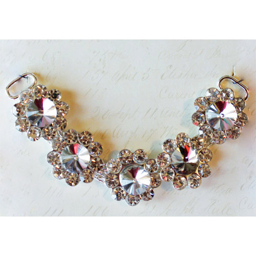 Melissa Frances - Vintage Jeweled Chain - Bright and Bold
