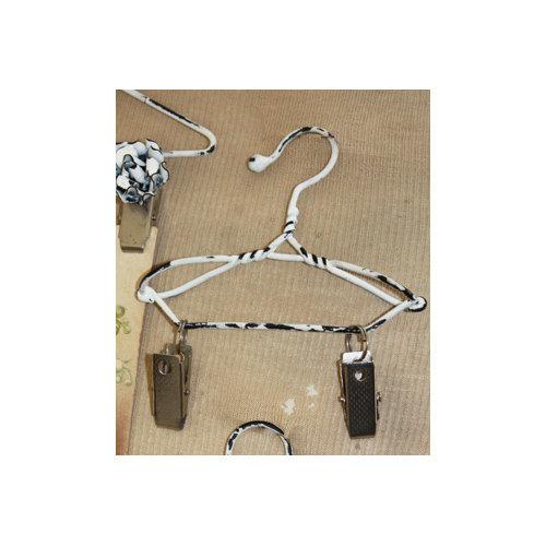 Melissa Frances - Mini Metal Hangers - Clip - 8 Inch