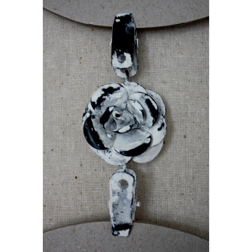 Melissa Frances - Double Metal Connecter - Flower Clip