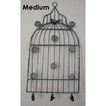 Melissa Frances - Birdcage Memo Holder - Medium