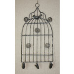 Melissa Frances - Birdcage Memo Holder - Small