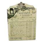 Melissa Frances - Wood Clipboard - Vintage Pharmacy Script