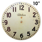 Melissa Frances - Clock Wall Hangings - Modern Clock Face - 10 Inch