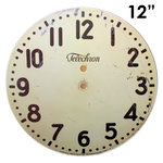 Melissa Frances - Clock Wall Hangings - Modern Clock Face - 12 Inch