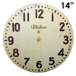 Melissa Frances - Clock Wall Hangings - Modern Clock Face - 14 Inch