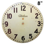 Melissa Frances - Clock Wall Hangings - Modern Clock Face - 8 Inch