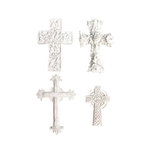Melissa Frances - Vintage Resin Applique - Cross Collection