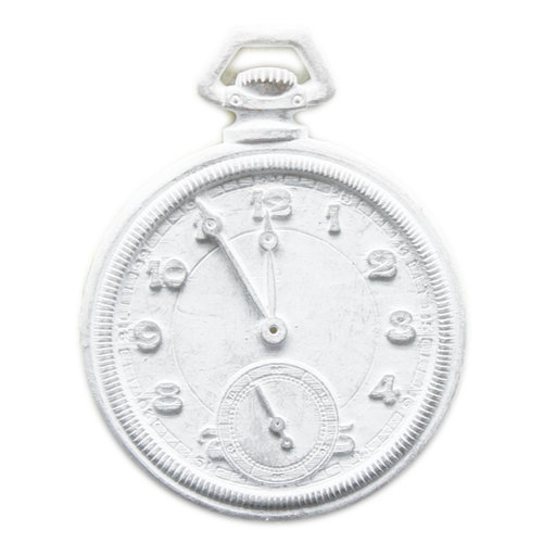 Melissa Frances - Vintage Resin Applique - Pocket Watch