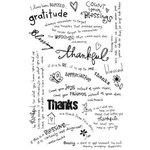 Melissa Frances - Heart and Home - Vintage Rub On Transfers - Thankful