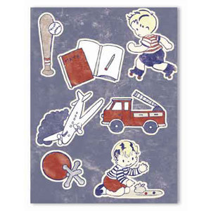 Melissa Frances - Heart and Home - 3D Stickers - Little Guy, CLEARANCE