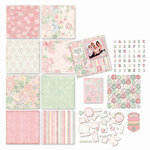 Melissa Frances - Heart and Home - Page Kit - Thankful, CLEARANCE