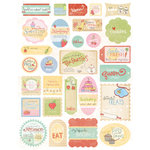Melissa Frances - Kitschy Kitchen Collection - Cardstock Stickers - Homemade