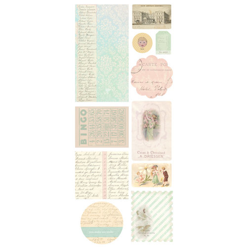 Melissa Frances - 5th Avenue Collection - Chipboard Pieces
