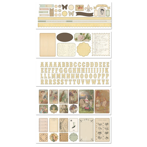 Melissa Frances - Heart and Home - Attic Treasures Collection - Sticker Book