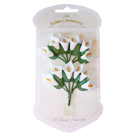 Melissa Frances - Vintage Flower - White Lily