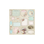 Melissa Frances - C'est la Vie Collection - 12 x 12 Cardstock Die Cuts