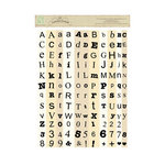 Melissa Frances - Attic Treasures Collection - Cardstock Stickers - Alphabits