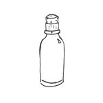 Melissa Frances - Mini Glass Bottles - Set of 2