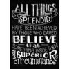 Melissa Frances - Blackboard Canvas Print - All Things Splendid