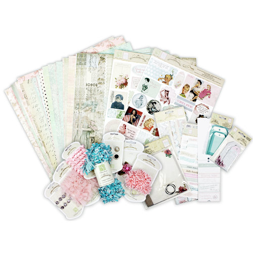 Melissa Frances - Pretty in Pink Mini Album and Page Kit