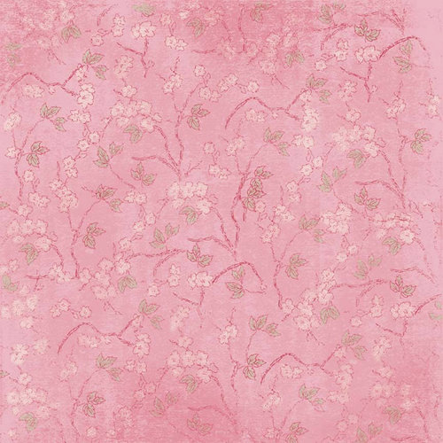 Melissa Frances - Vintage Posey Collection - 12 x 12 Paper - Maxine