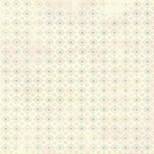 Melissa Frances - Vintage Posey Collection - 12 x 12 Paper - Madeline