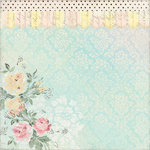 Melissa Frances - 5th Avenue Collection - 12 x 12 Paper - Flora