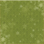 Melissa Frances - Deck the Halls Collection - Christmas - 12 x 12 Paper - First Snowfall