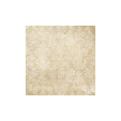 Melissa Frances - Attic Treasures Collection - 12 x 12 Paper - Kraft Damask