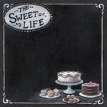 Melissa Frances - The Sweet Life Collection - 12 x 12 Double Sided Paper - Sweet Life