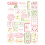 Melissa Frances - Heart and Home - Designer Stickers - Baby Girl, CLEARANCE