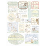 Melissa Frances - Heart and Home - Designer Stickers - Hush a' Bye