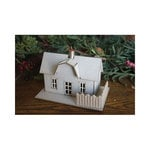 Melissa Frances - Christmas - Ornament - Farm House