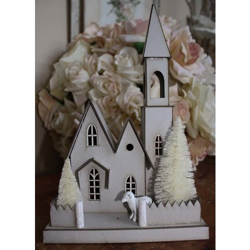 Melissa Frances - DIY House Kit - Large Church House