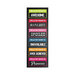 Hampton Art - Laugh Out Loud - Cardstock Stickers - My Name Is