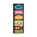 Hampton Art - Laugh Out Loud - Cardstock Stickers - Social Text