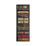 Hampton Art - Laugh Out Loud - Cardstock Stickers - Go Forth 2