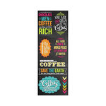 Hampton Art - Laugh Out Loud - Cardstock Stickers - Rich Coffee