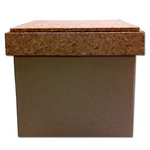 Hampton Art - Vintologie Collection - 4 Inch Box with Cork Lid